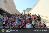 Gruppenbild des VJO in Valletta