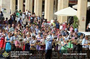 Musizieren in der Altstadt von Valletta