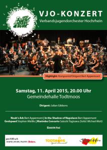 Flyer Konzert Todtmoos